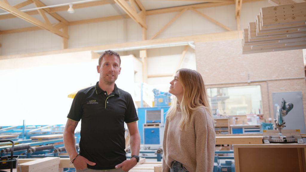 Ligna Systems - Aufstrebender Spezialist im Bereich Holzhallenkonstruktion