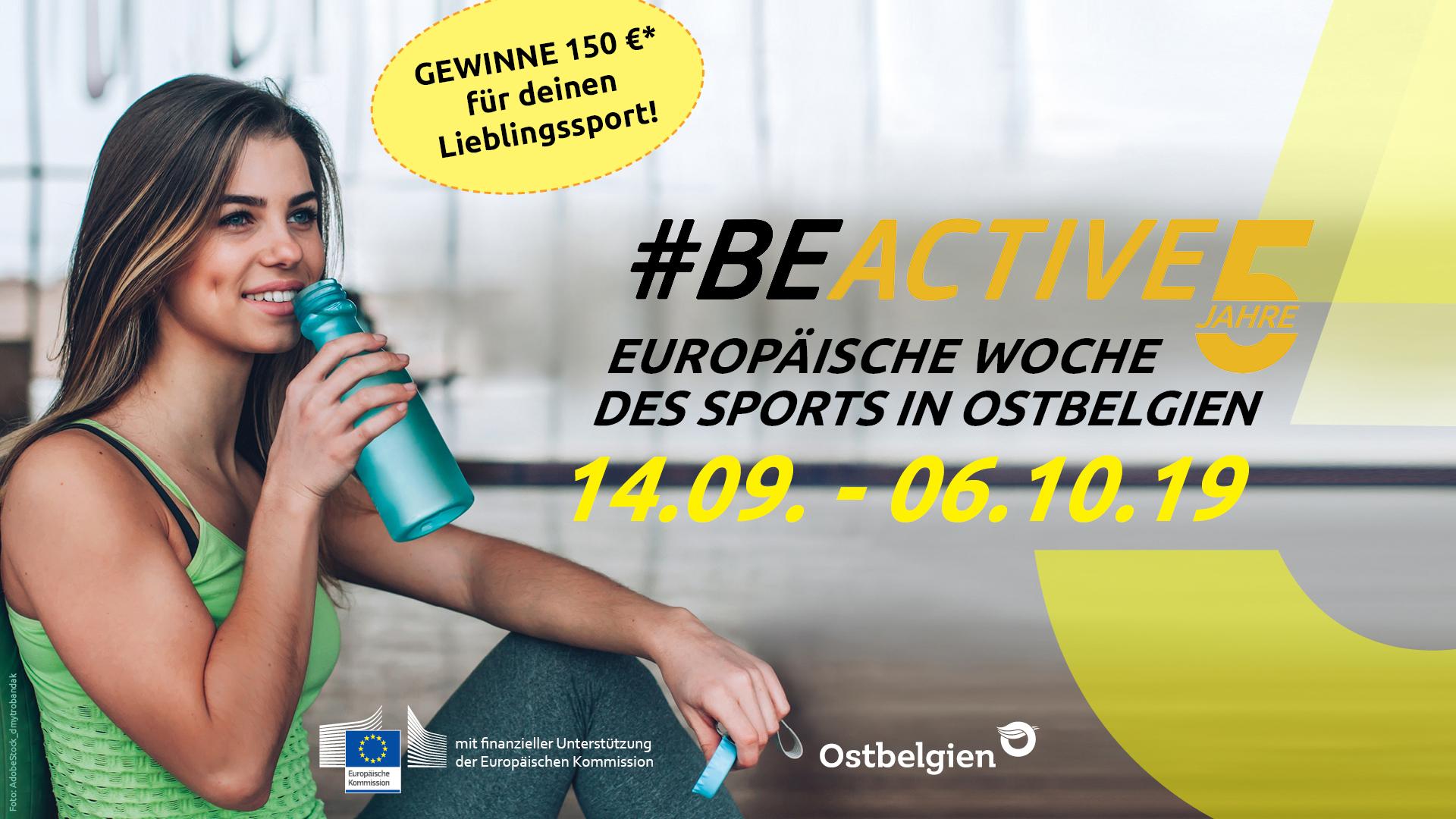 Europäischen Woche des Sports #beactive
